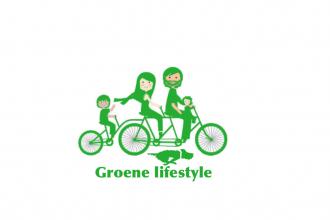 Groene lifestyle logo